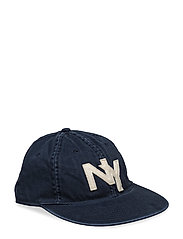 AUTHENTIC BASEBALL CAP W/ STACKED L - AVIATOR NAVY