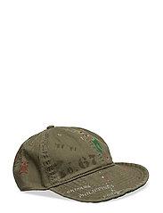 COMBAT BASEBALL CAP - MOUNTAIN GREEN