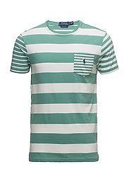 Custom Slim Fit Cotton T-Shirt - DIVER GREEN/CLASS