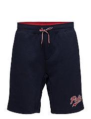 Polo Bear Double-Knit Short - CRUISE NAVY