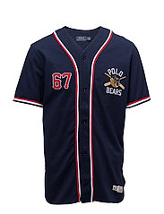 Polo Bear Baseball Jersey - CRUISE NAVY