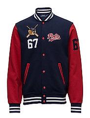 Polo Bear Baseball Jacket - CRUISE NAVY/RALPH