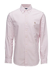 Slim Fit Cotton Oxford Shirt - 2600B ROSE PINK/W