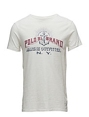 Custom Slim Fit Cotton T-Shirt - DECKWASH WHITE