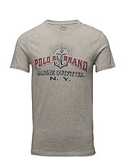 Custom Slim Fit Cotton T-Shirt - SPRING HEATHER