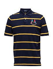 Classic Fit Mesh Polo Shirt - CRUISE NAVY/SLICK