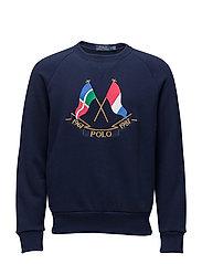 Cotton-Blend Sweatshirt - CRUISE NAVY
