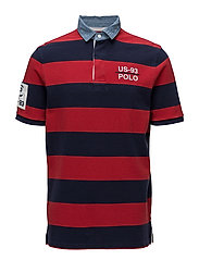 CP-93 Classic Fit Mesh Rugby - POLO SPORT RED/CR