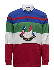 CP-93 Classic Fit Rugby Shirt - CRUISE ROYAL MULT