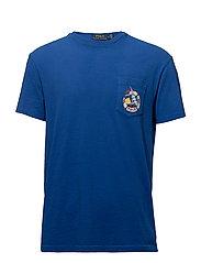 Custom Slim Cotton T-Shirt - CRUISE ROYAL