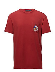 Custom Slim Cotton T-Shirt - POLO SPORT RED