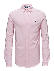 Featherweight Mesh Shirt - CARMEL PINK