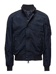 LUX POLY NYLON-TROOPS BOMBR - AVIATOR NAVY