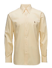 Classic Fit Easy Care Shirt - 1021F YELLOW/WHIT