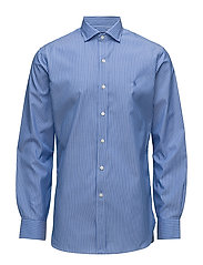 Slim Fit Easy Care Shirt - 1916 BLUE/WHITE