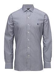 Slim Fit Easy Care Dress Shirt - 2231 NAVY/WHITE