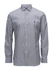 Slim Fit Easy Care Dress Shirt - 2232 WHITE/NAVY