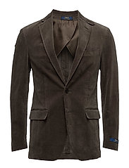 Morgan Corduroy Suit Jacket - OLIVE
