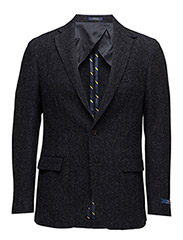 LG WOOL HERRINGBONE-MRGN 2BN TL SUC - DARK NAVY AND GRE
