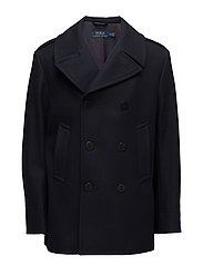 SOLID PEACOAT-MODERN PEACOAT SUC - NAVY