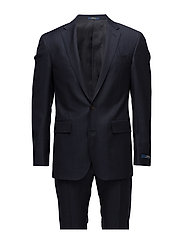Polo Mini-Nail-Head Wool Suit - NAVY AND BLACK