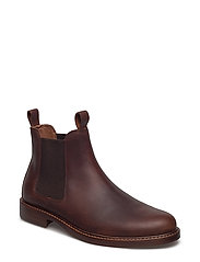 Normanton Leather Chelsea Boot - DEEP SADDLE TAN