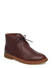 Karlyle Leather Chukka Boot - DEEP SADDLE TAN
