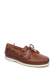 HVYWGHT SMTH LTHR-MERTON-SO-BTS - DEEP SADDLE TAN
