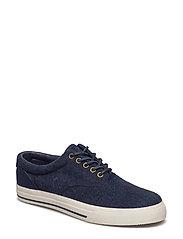 Vaughn Herringbone Sneaker - NAVY/BLUE