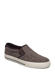 Vaughn II Wool Donegal Sneaker - EARTH