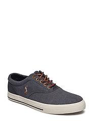 Vaughn Canvas Sneaker - BLACK/DARK CARBON