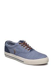 Vaughn Canvas Sneaker - BLUE/INDIGO