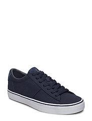 Sayer Canvas Low-Top Sneaker - AVIATOR NAVY
