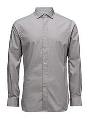 Custom Fit Estate Shirt - 1296A OLIVE/WHI