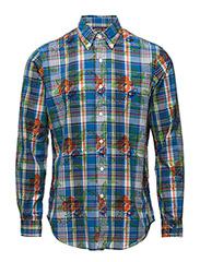 Custom Fit Sport Shirt - 694 HIBISCUS PL