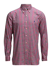 BD HAB PPC 2-LONG SLEEVE-SPORT - 106A RED PLAID