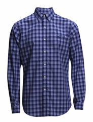 BD PPC SP-LONG SLEEVE-SPORT SH - 100 NAVY PLAID
