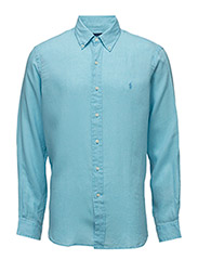Ocean-Wash Linen Sport Shirt - FRENCH TURQUOIS