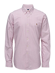 Slim Fit Cotton Oxford Shirt - 1751B PINK/WHITE