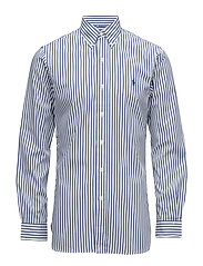 Slim Fit Oxford Sport Shirt - 1796 WHITE/BLUE