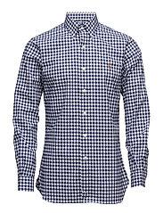 Slim Fit Oxford Sport Shirt - 1798 BLUE/WHITE