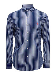 Slim Fit Poplin Estate Shirt - 1797 BLUE/WHITE