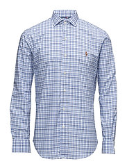 Slim Fit Poplin Estate Shirt - 1802 BLUE/WHITE