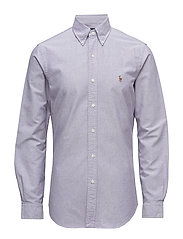 Slim Fit Cotton Sport Shirt - 1829A CONCORD/W