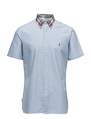 Madras Collar Sport Shirt - BSR BLUE