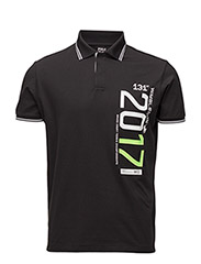 Wimbledon Custom Fit Polo - POLO BLACK