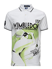Wimbledon Custom Fit Polo - PURE WHITE