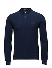 Slim Fit Cotton Polo - NEWPORT NAVY