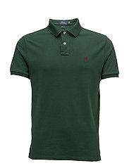 Custom Slim Fit Cotton Polo - NORTHWEST PINE