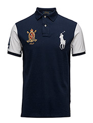 Custom-Fit Big Pony Polo Shirt - NEWPORT NAVY MU